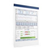 DURABLE Magnetleiste Durafix® Rail 210 x 17 mm blau