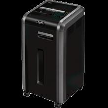FELLOWES Aktenvernichter Powershred® 225Ci 4 x 38 mm Partikelschnitt P-4 schwarz/silber