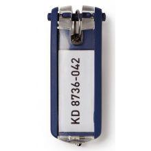 DURABLE Schlüsselanhänger 6 Stück blau