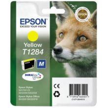 EPSON Tintenpatrone T1284 gelb