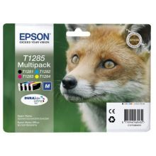 EPSON Tintenpatrone T1285 Multipack black, cyan, magenta, yellow