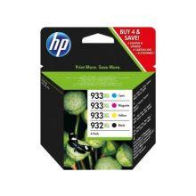 HP Tintenpatrone Nr. 932/933XL 4 Stück 48,5ml schwarz und color
