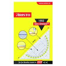 ARISTO Geo-Dreieck 1552 ohne Griff 16 cm