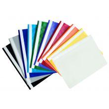 PAGRO Schnellhefter 10 Stück A4 PP farbig sortiert