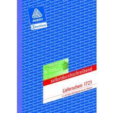 AVERY ZWECKFORM Lieferschein 1721 A5 3 x 40 Blatt selbstdurchschreibend