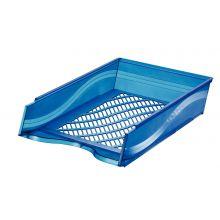 BENE Briefkorb 60100 A4/C4 blau metallic