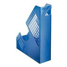 BENE Stehsammler 50100 A4 PP blau metallic