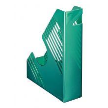 BENE Stehsammler 50100 A4 PP grün metallic