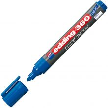 EDDING Whiteboardmarker 360 mit Rundspitze 1,5-3 mm blau