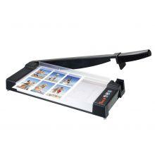 PEACH Hebelschneidemaschine PC300-01 DIN A4 schwarz/silber