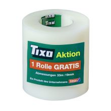 TIXO Klebeband 56131 2 + 1 gratis 19 mm x 33 m matt