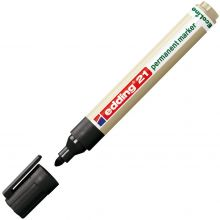 EDDING Permanentmarker EcoLine 21 mit Rundspitze 1,5-3 mm schwarz