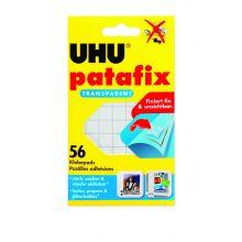 UHU Klebepad 48815 Patafix 56 Stück transparent