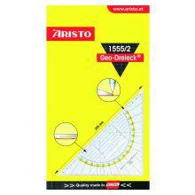 ARISTO Geo-Dreieck 1555/2 mit Griff 22,5 cm