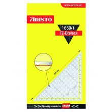 ARISTO TZ-Dreieck 1650/1 ohne Griff 22,5 cm