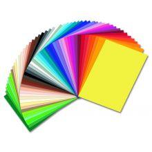 FOLIA Tonzeichenpapier 50 x 70 cm 130 g/m² dunkelgelb