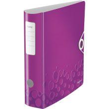 LEITZ Ordner WOW 1106 A4 8,2 cm violett-metallic