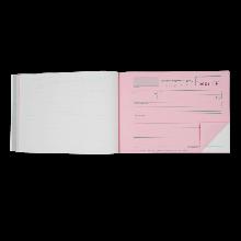Auszahlungsbestätigung A5 Block zum Durchschreiben, 2 x 50 Blatt