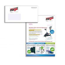 Kuvertmailing Brief 4/4-färbig mit schwarzer Personalisierung
