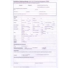 Ärztliche Untersuchung nach § 8 Führerscheingesetz (FSG) in Österreich