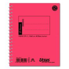URSUS Spiralnotes SP11 10 x 8 cm 48 Blatt kariert