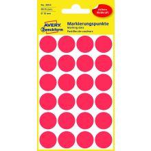 AVERY ZWECKFORM Markierungspunkte 3004 96 Stück permanent Ø 18 mm rot