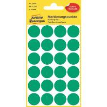 AVERY ZWECKFORM Markierungspunkte 3006 96 Stück permanent Ø 18 mm grün