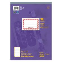 URSUS Block A4 liniert 9mm 70g/m² 48 Blatt