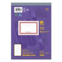 URSUS Block A5 liniert 10mm 70g/m² 48 Blatt