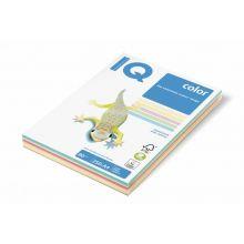 IQ Color Kopierpapier A4 80 g/m² 5 x 50 Blatt Mix pastell-bunt