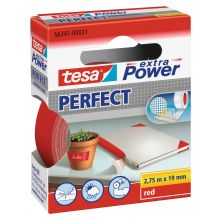 TESA Gewebeband extra Power Perfect 19 mm x 2,75 m rot