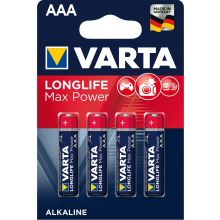 VARTA Batterien Longlife Max Power AAA LR03 4 Stück 1,5 V