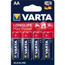 VARTA Batterien Longlife Max Power AA LR06 4 Stück 1,5 Volt