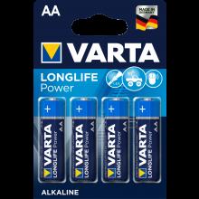 VARTA Batterien Longlife Power AA LR06 4 Stück 1,5 Volt