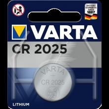VARTA Knopfzellen Batterie CR2025 Lithium-Zelle