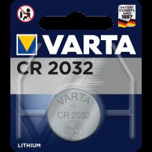VARTA Knopfzellen Batterie CR2032 Lithium-Zelle