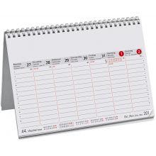 Wochenvormerkkalender DIN A5 7 Spalten 2020