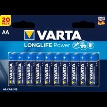 VARTA Batterien Longlife Power AA LR06 20 Stück 1,5 Volt
