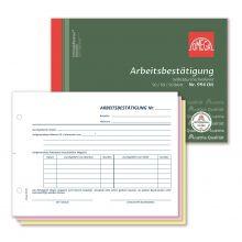 OMEGA Arbeitsbestätigung 994 OK A5 quer 3 x 50 Blatt selbstdurchschreibend