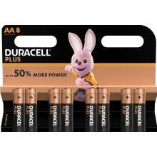 DURACELL Batterien Plus Power MN1500 AA 8 Stück