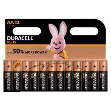 DURACELL Batterien Plus Power MN1500 AA 12 Stück