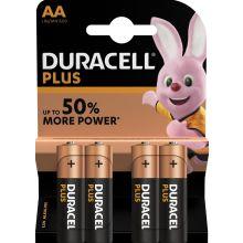 DURACELL Batterien Plus Power MN1500 AA 4 Stück