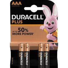 DURACELL Batterien Plus Power MN2400 AAA 4 Stück