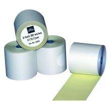 OMEGA Thermorolle 5 Stück 2-fach selbstdurchschreibend 5,7 x 7 x 1,2 cm weiß
