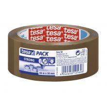 TESA Verpackungsband 57166 66 m x 38 mm braun
