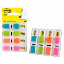 POST-IT Index 683-4ABX 4 x 35 Blatt mehrere Farben