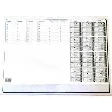Schreibunterlage mit Kalender 50 Blatt 57 x 42 cm