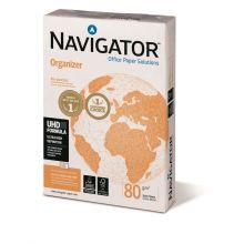 NAVIGATOR Kopierpapier Organizer A4 80 g/m² 2 x gelocht  500 Blatt weiß