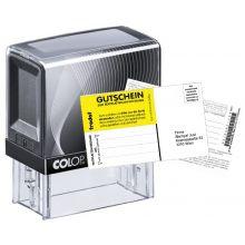 COLOP Textstempel P30 18 x 47 mm 5-zeilig mit Gutschein