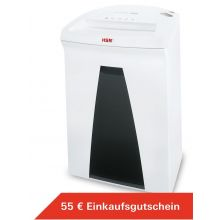 HSM Aktenvernichter Securio B24 4,5 x 30 mm Partikelschnitt weiß